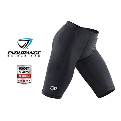 Men's Compression Shorts - Performance Grade Compression Shorts For Active Men - Great For Running & Working Out - Sized For Men & Boys - Endurance Shield 360-100%!