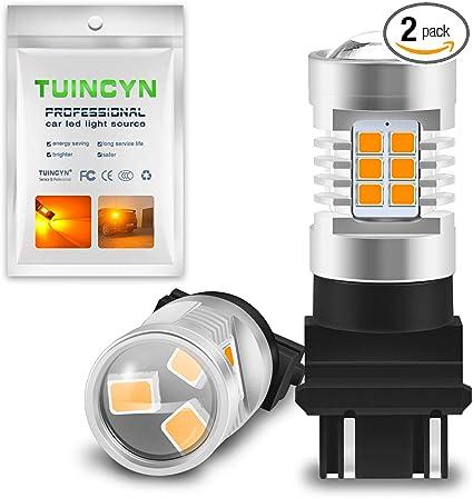 White Tail Light 18 SMD LED 3157 Light Bulbs 2pcs 4057 4157 3057 1 Pair
