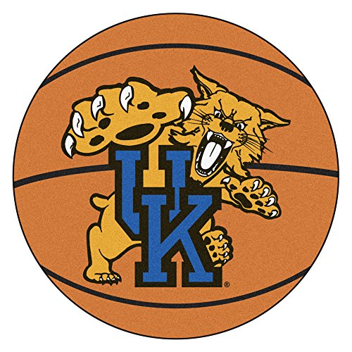 Fan Mats University of Kentucky Wildcats Basketball Area Rug ()