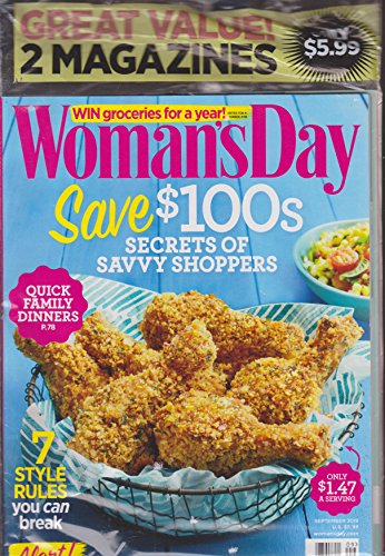 Good Housekeeping Womans Magazine - Woman's Day & Good Housekeeping Magazine 2 Pack September 2015