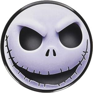 Disney Tim Burton's The Nightmare Before Christmas Jack Head Button Magnet
