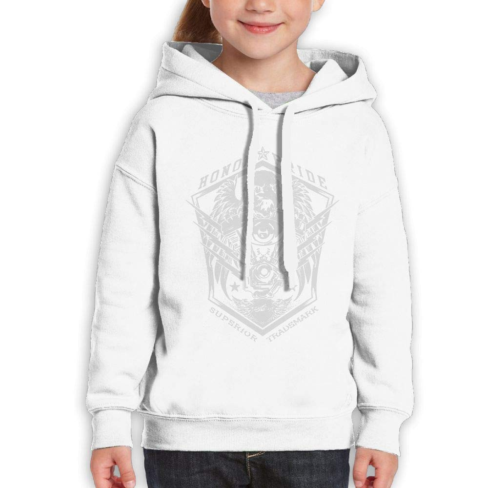 Yishuo Youth Limited Edition Casual Style Travel Hoodies S White
