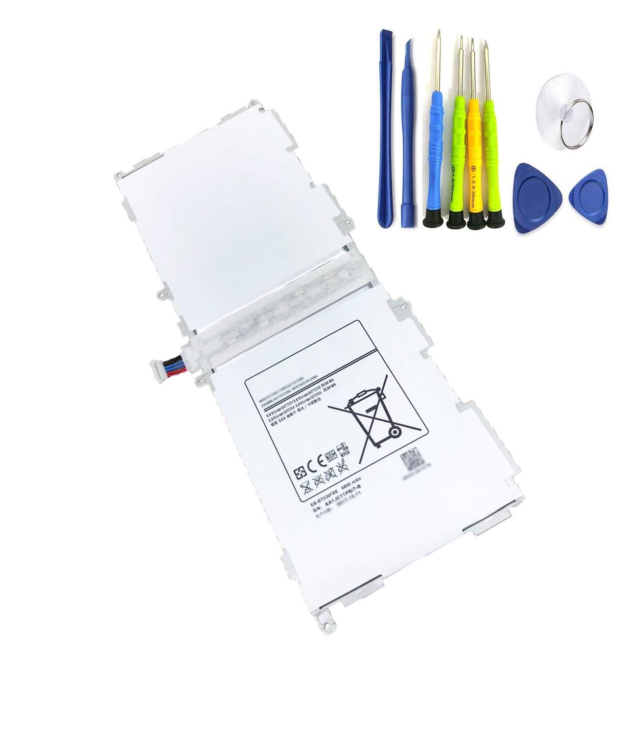 Bateria Dentsing para Samsung EB-BT530FBC 3.8V 25.84Wh/6800mAh Galaxy Tab 4 10.1 Tab 4 10.1 Tablet SM-T530 SM-T531 SM-T5