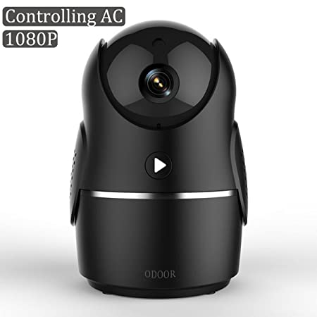 1080P Smart IP Camera, Wireless Security Camera for Home Baby Monitor System with Remote Controlling AC, APP 24H Customer Service, Motion Alarm, Night Vision Camera for Elder Pet with IOS, Android