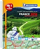 France 2014 A4 Spiral Atlas (Michelin Tourist and Motoring Atlases)