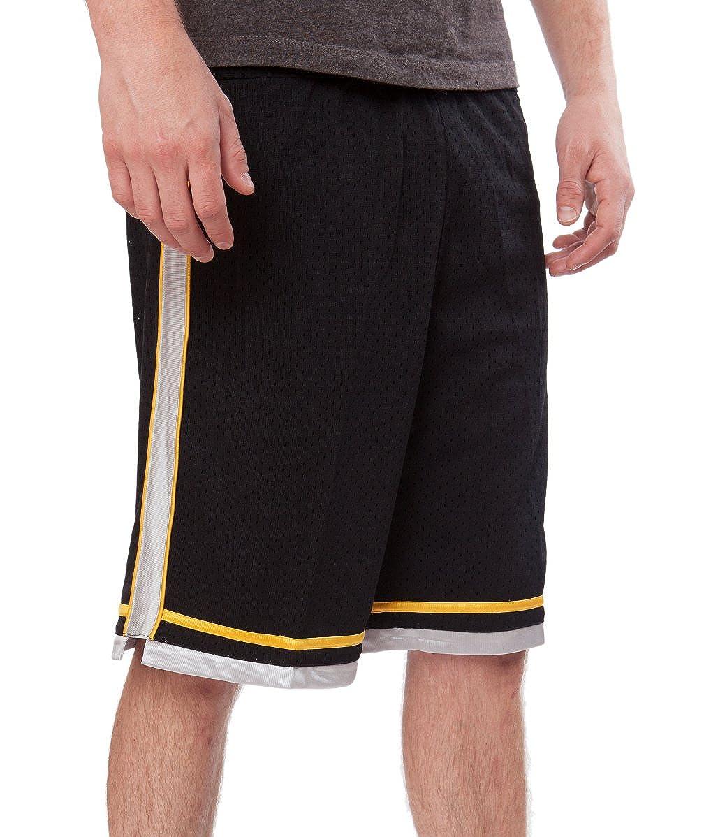 JJB Soccer - Basketball - Athletic - Elastic Waist Elongated Mesh Youth Short