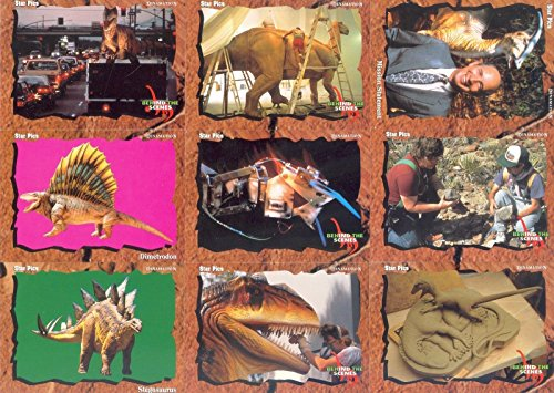 (DINOSAURS DINAMATION DINO CARDS 1992 STAR PICS COMPLETE BASE CARD SET OF 80 CH )
