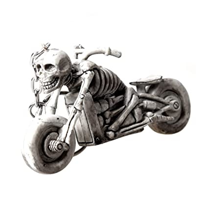 Nido del Bimbo – Llavero de esqueleto en motocicleta, de ...