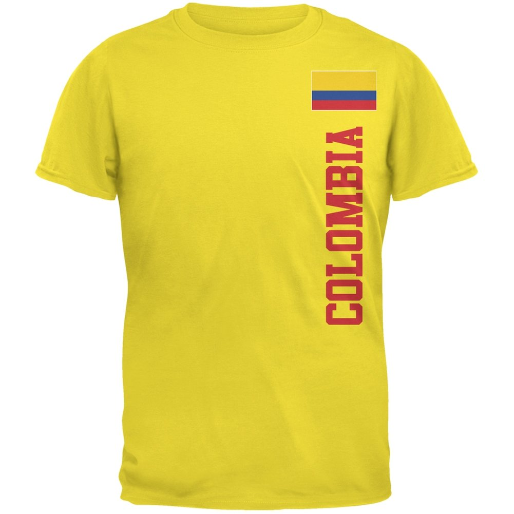 9cd1dde04 Amazon.com  Old Glory World Cup Colombia Yellow Youth T-Shirt  Clothing