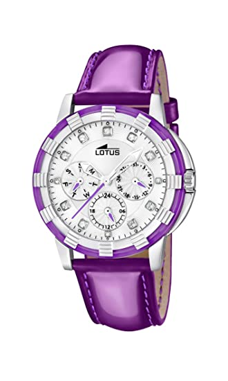 95d8b20fe0ca Lotus 15746 6 - Reloj analógico de Cuarzo para Mujer con Correa de Piel