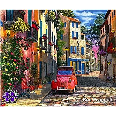 Rue Francais 1500 Piece Puzzle: Toys & Games