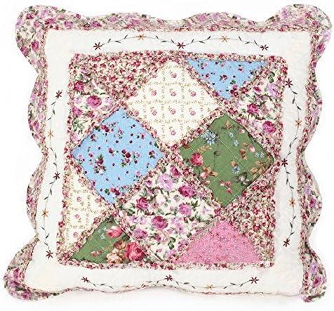 Beddingleer Fundas decorativas para almohada Rosa Floral Impresión ...