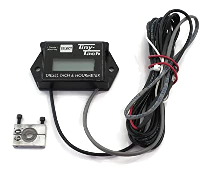 Tachometer With Hour Meter : Resettable tachometer hour meter for honda crf cr xr crx dirt