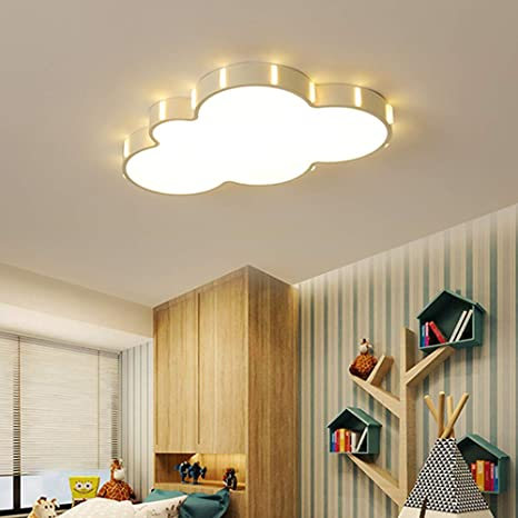 Ultra-delgado LED Lámpara de techo Blanco Dibujos animados ...