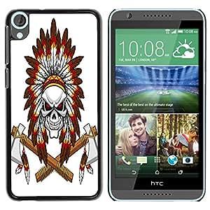 Dragon Case - FOR HTC Desire 820 - All time is no time - Caja protectora de pl??stico duro de la cubierta Dise?¡Ào Slim Fit