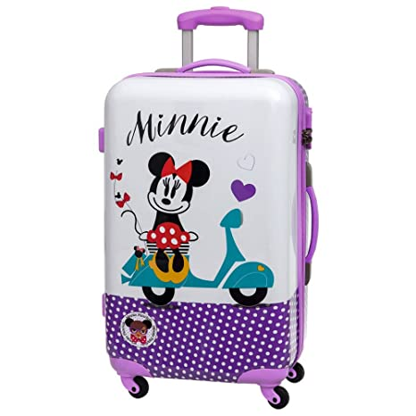 Disney Minnie Vespa Maleta Mediana Rígida, Color Morado, 62 ...