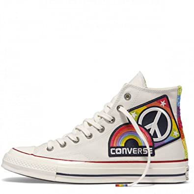 Image Unavailable. Image not available for. Color  Converse Chuck Taylor  All Star AS 70 Hi Pride Parade Rainbow ... b7ed6af68