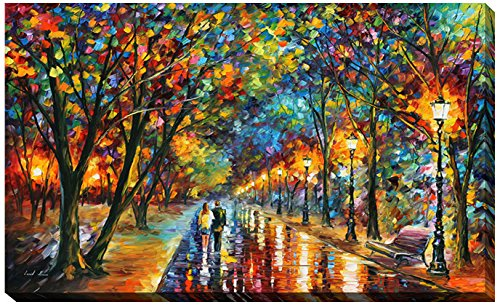 Picture Perfect International Giclee Stretched Wall Art by Leonid Afremov When The Dreams Came True Artists-Canvas 24