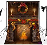 Christmas Vinyl Customized Backdrop CP Photography Prop Photo Background 10X20FT SD99