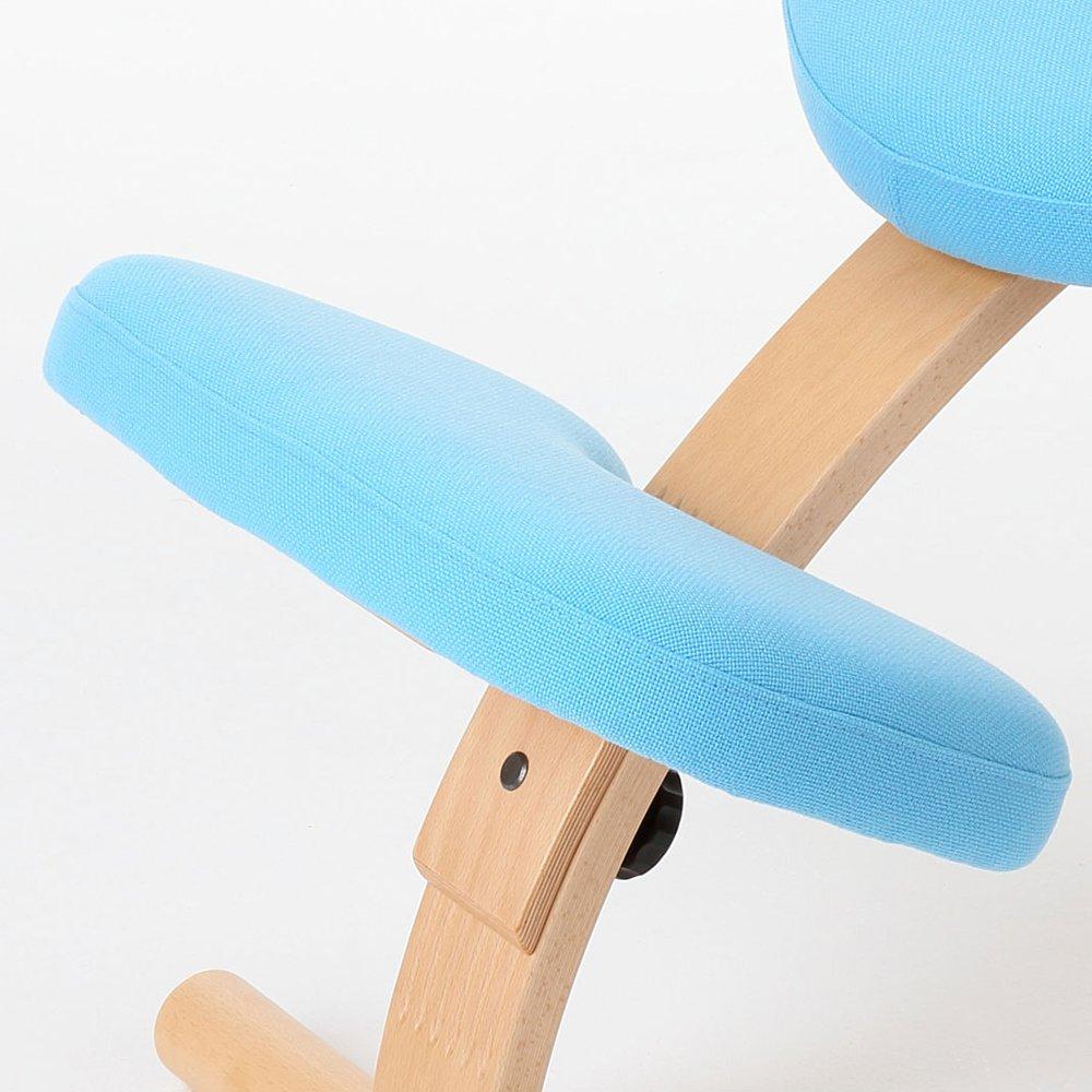 バランスチェア イージー/部品 (② 膝面クッション:ライトブルー(CH146-A005)) B01COTKQ3A ②膝面クッション:ライトブルー(CH146-A005) ②膝面クッション:ライトブルー(CH146A005)