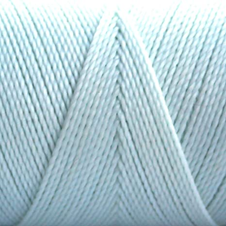 BABY BLUE 1mm Waxed Polyester Twisted Cord Macrame Bracelet Thread Artisan String 180yards Spool