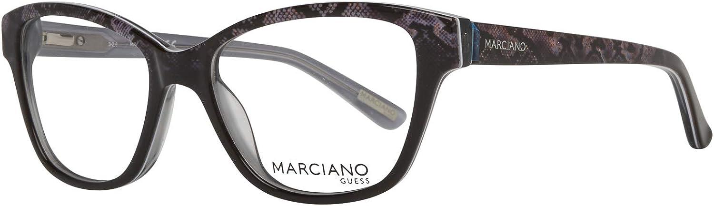 Schwarz 51.0 Donna Guess By Marciano Brille Gm0280 050 51 Montature Nero