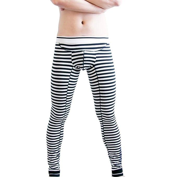 Moda De Invierno para Hombre Leggings Pantalones Suaves Cómodos ...
