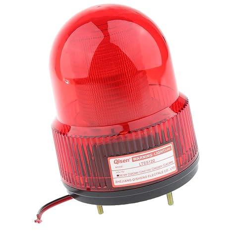 24v Led Strobe Stroboscopic Light Round Signal Beacon Flash Lamp Yellow Back To Search Resultshome