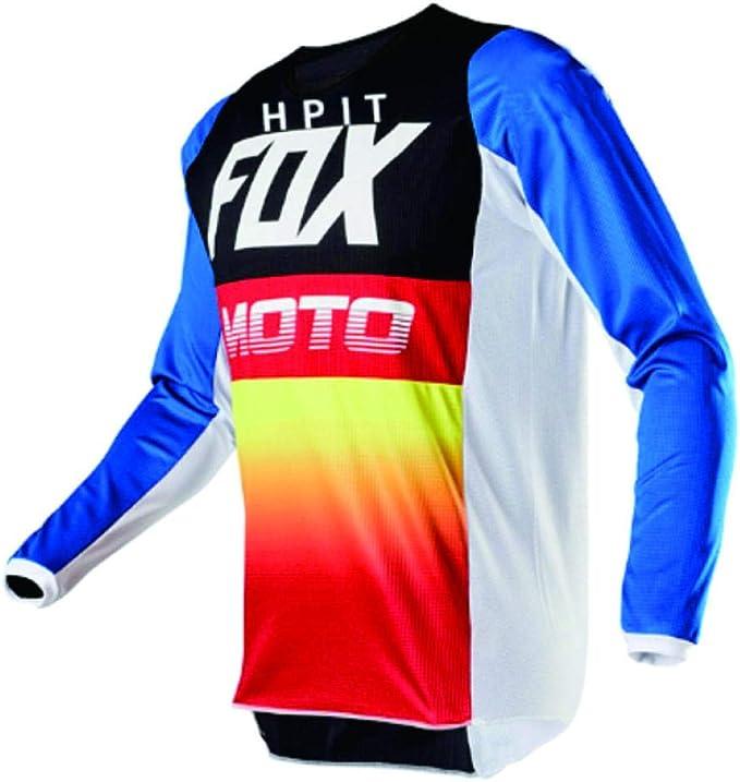 PYMNDZ Camisetas hpit Fox Bicicleta de Monta?a MTB Camisas ...