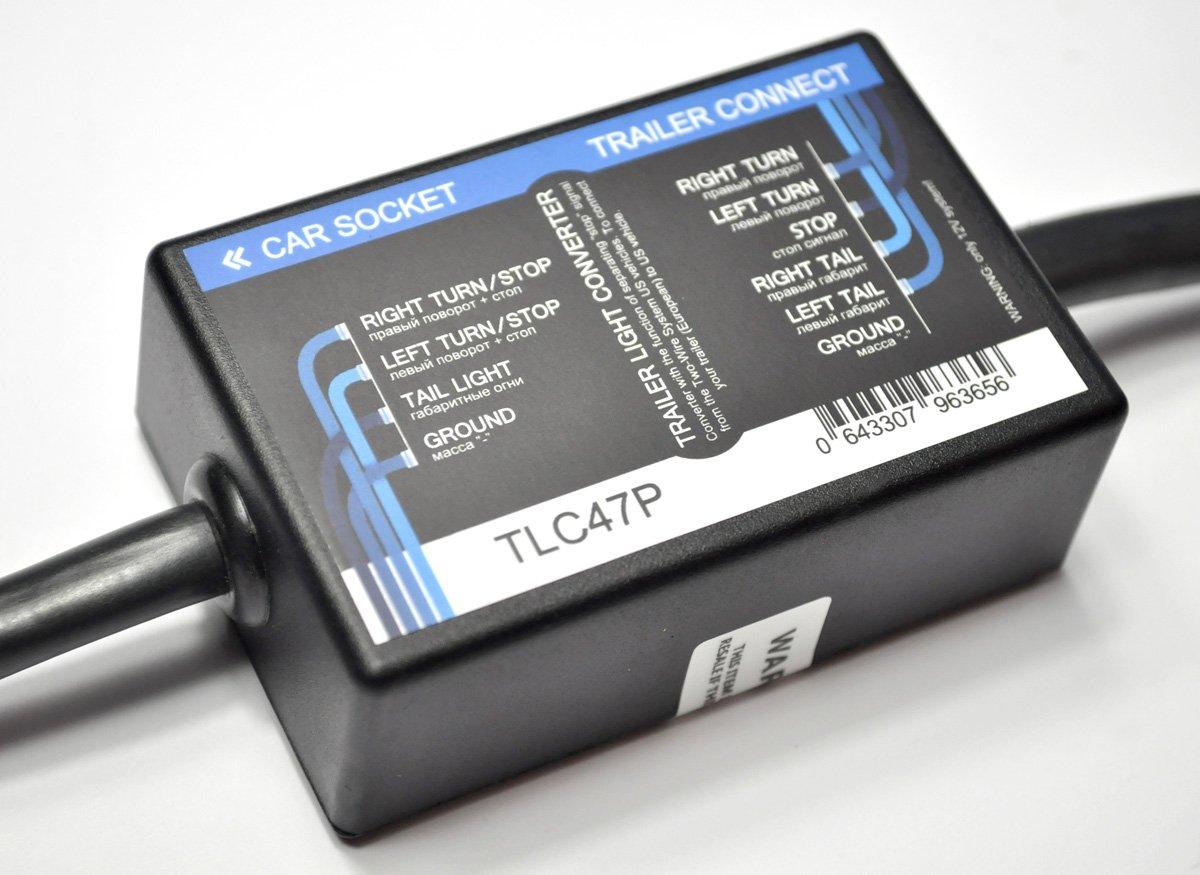 USA zu EU Trailer Licht Konverter 4 flach auf 7-Pin: Amazon.de: Auto