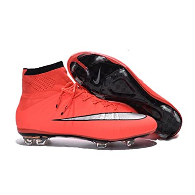 timeless design 56816 cdf34 deosetly Chaussures de Football pour Homme Orange de Football Mercurial  Superfly FG Bottes