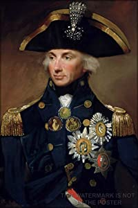 "24""x36"" Gallery Poster, VICE Admiral Horatio Nelson 1st viscount Lord Horatio"