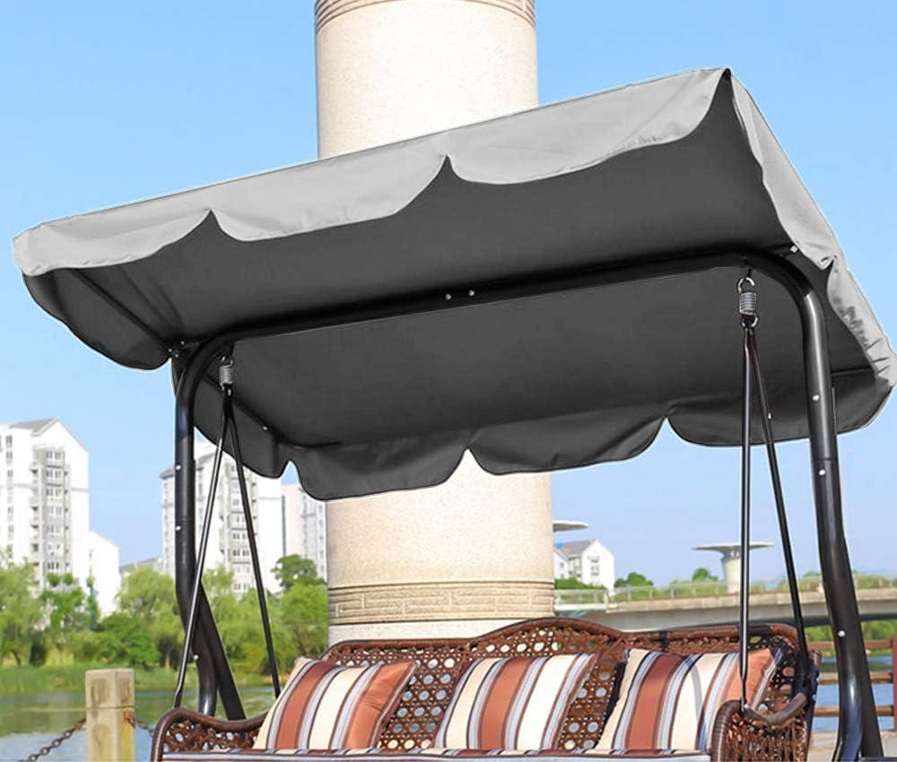 copertura universale di ricambio per sedia a dondolo copertura per amaca Nobrand giardino 195 x 125 x 15 cm, beige esterno, giardino