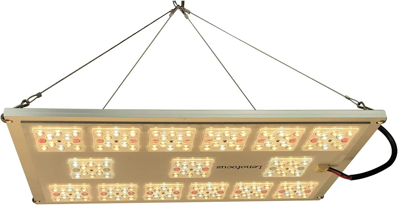Lenofocus MX1200 LED Grow Light Full Spectrum Dimmable LED Plant Grow Lights Board Built with Cree LEDs Meanwell Driver Growing Lamps Panel for Indoor Plants Flowering Veg Seedling