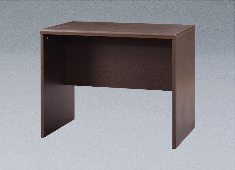 机 テーブル/pcデスク 脚先には床の傷つき防止にフェルト付き ステキな 部屋 シンプルデスク B00YO5FJ58