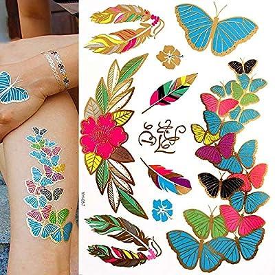 Tatuaje falso, Fiesta de tatuaje para pegatinas de tatuajes ...