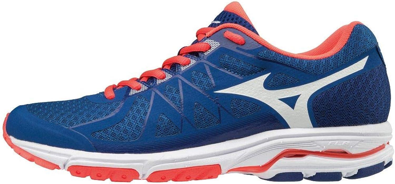 Mizuno Wave Unitus 4, Zapatillas para Mujer, Multicolor (Blue/White/Fierycoral 001), 36.5 EU: Amazon.es: Zapatos y complementos