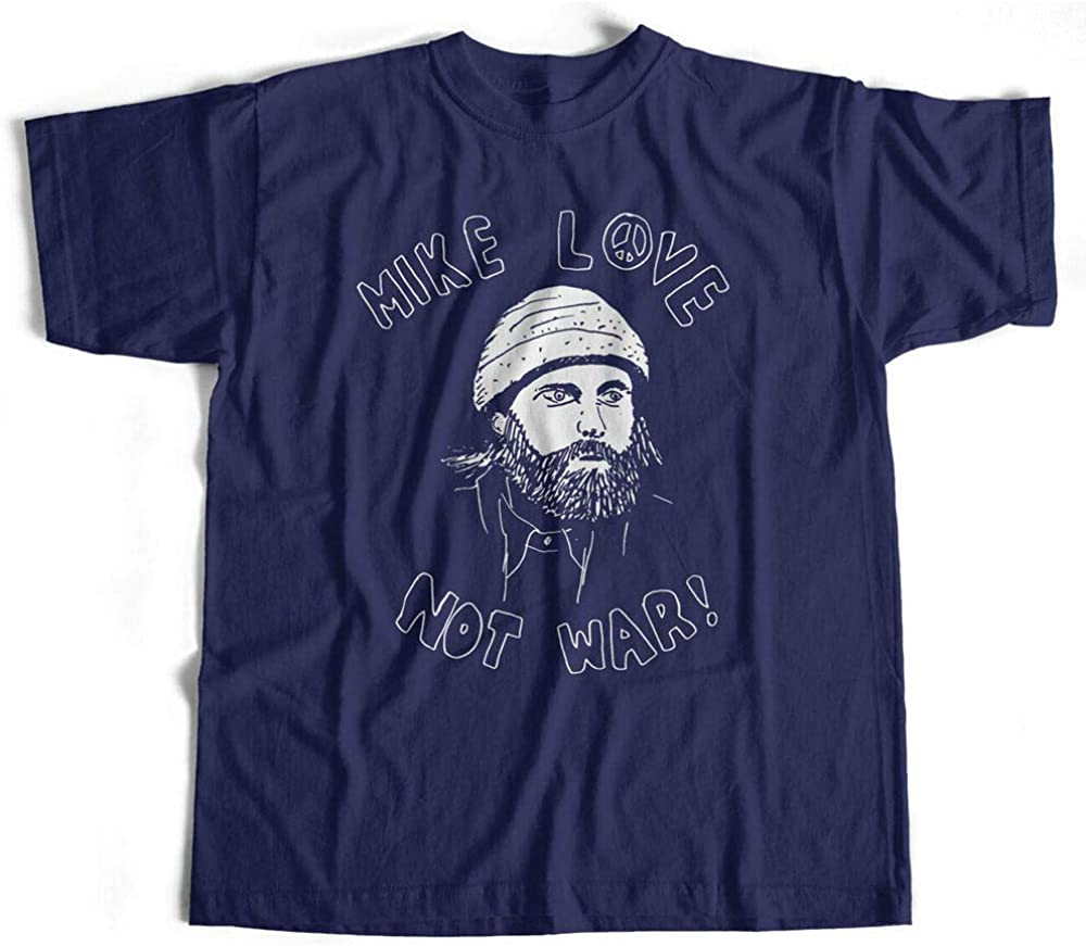 Mike Love Not War T Shirt For Beach Boys Afficionados