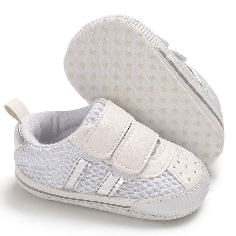 Cute Newborn Unisex Baby Sneaker for 0-18 Months Mesh Cotton Crib Every Step Walking Shoes