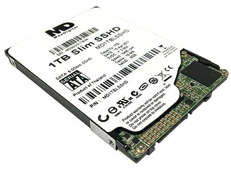 Maxdigital 1 TB 16 MB de caché + 8 GB Nand Delgado de 2,5