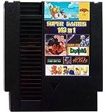 143 in 1 NES Video Game Multi Cart Super Games 8-Bit 72-Pin (Black Cartridge)