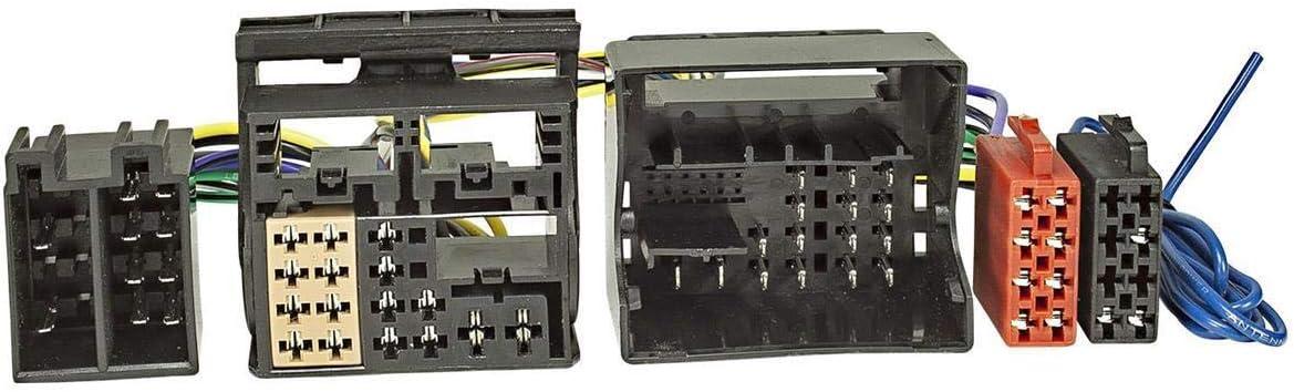 Tomzz Audio 7303 000 T Kabel Iso Kompatibel Mit Audi Ab Elektronik