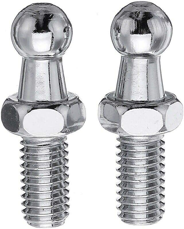 Support argent Multi Fit GSF38 Paire GAS Strut fin accessoires 10 mm Balle Broches