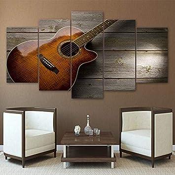 5 Conjuntos de pintura modular Imágenes Hd Impreso Lienzo Arte de ...