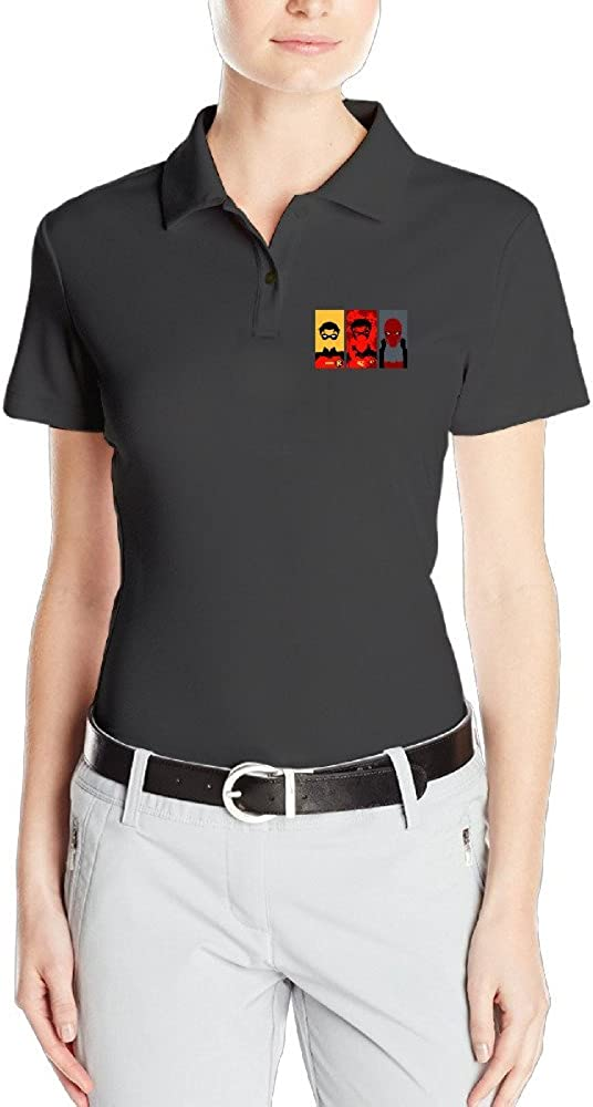 Personalized Womens Cool Customized 3 Faces Of Jason Todd Polo Collared Shirt Polo Plain T Shirts