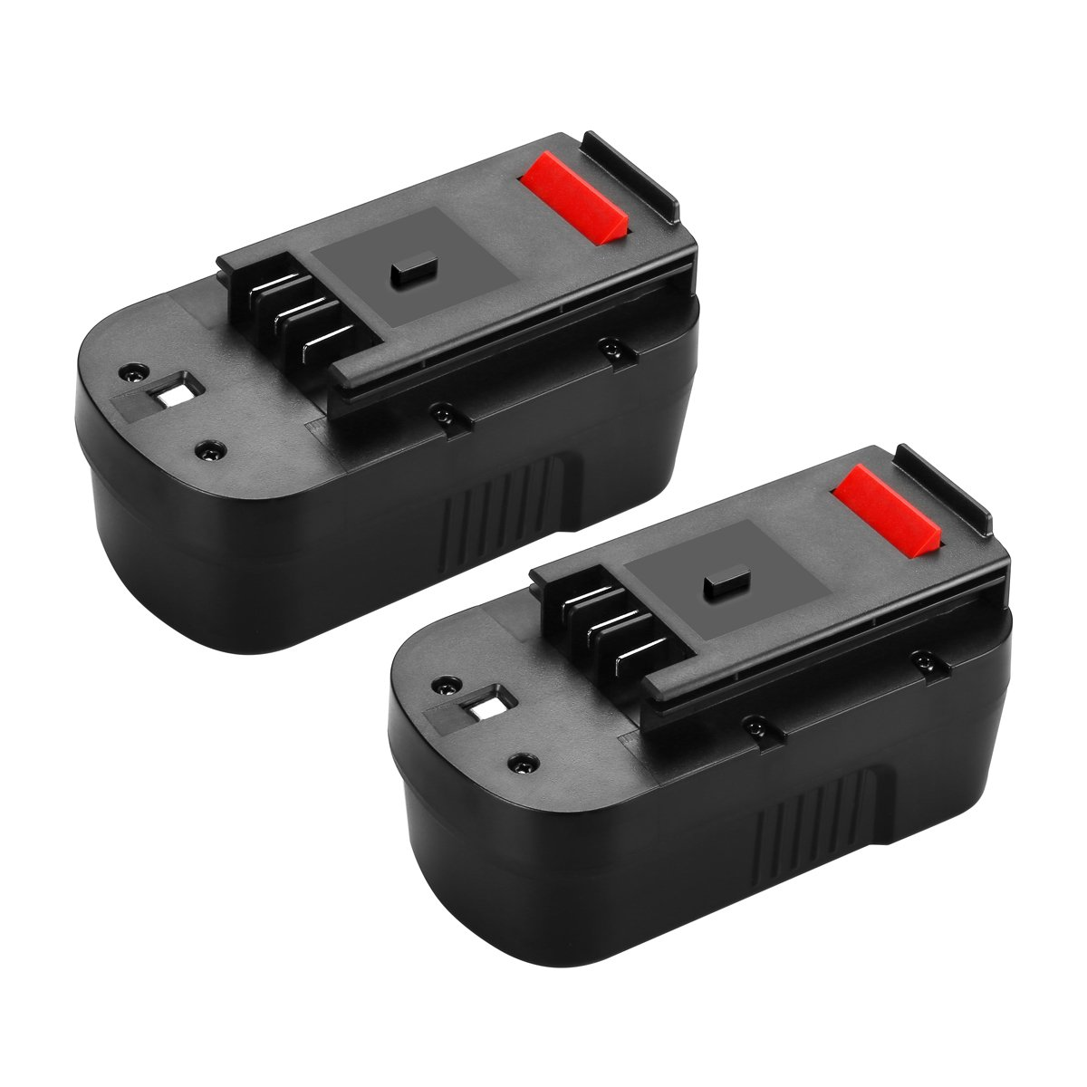 Powilling 2Pack 18V 3500mAh Replacement Battery for Black & Decker HPB18 HPB18-OPE 244760-00 A1718 A18 A18E Firestorm FS180BX FS18BX FS18FL FSB18