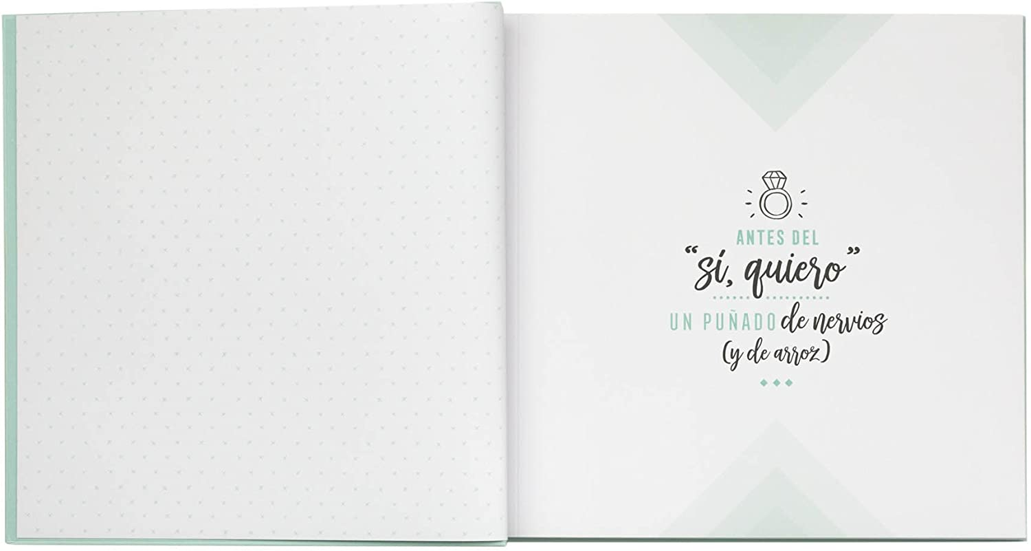 Amazon.com: Mr; Wonderful Woa08967Es Non-Post Album and All Our Wedding  Rises, 27 x 1.5 x 25 cm: Office Products