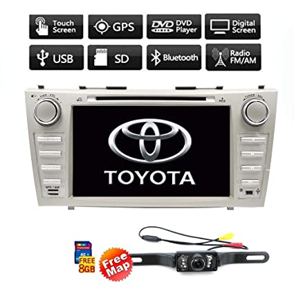 Amazon com: Radio CD Player Touch Screen GPS DVD Navigation