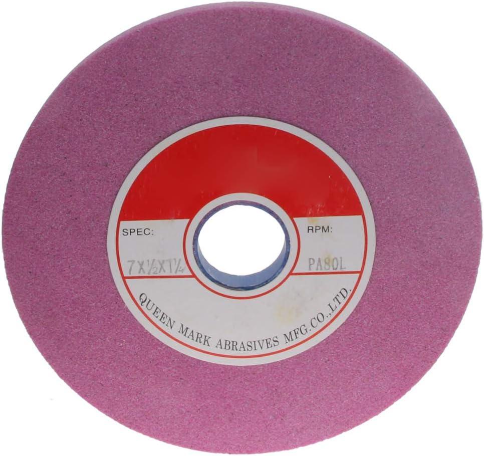 Utoolmart Bench Grinding Wheels Aluminum Oxide 80 Grit for Surface Grinding 1pcs