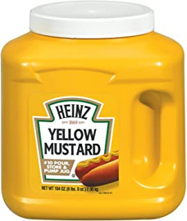 product image for Heinz Bulk Yellow Mustard Jug (104 oz Containers, Pack of 6)